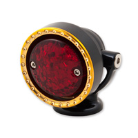 Ken′s Factory Neo-Fusion Black with Brass Ring Taillight