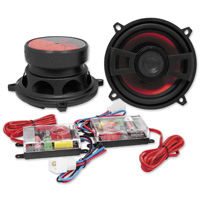 Hawg Wired DX Series 4 ohm Componet Speakers, 5.25″