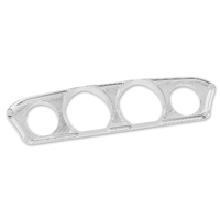 Arlen Ness Beveled Chrome Inner Fairing Gauge Trim