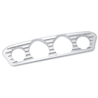 Arlen Ness Deep Cut Chrome Inner Fairing Gauge Trim