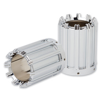 Arlen Ness 10-Gauge Chrome Exhaust Tip Cover