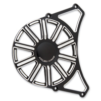Arlen Ness 10-Gauge Black Front Drive Pulley Cover