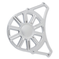 Arlen Ness 10-Gauge Chrome Front Drive Pulley Cover