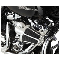 Arlen Ness 90 Degree Monster Sucker Air Cleaner Beveled Cover Chrome