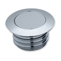 Kuryakyn Vented Pop Up Chrome Gas Cap