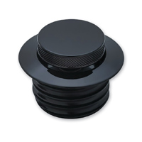 Kuryakyn Vented Pop Up Black Gas Cap
