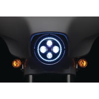 Kuryakyn 7&quot LED Orbit Vision Headlight