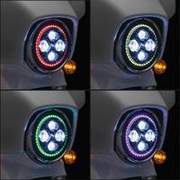 Kuryakyn 7″ LED Orbit Prism Headlight