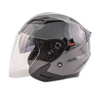 Zox Journey Titanium Open Face Helmet