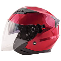 Zox Journey Wineberry Open Face Helmet