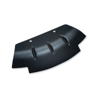 Kuryakyn Lower Triple Tree Wind Deflector - Black