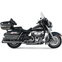 Bassani True-Dual Down Under Headpipes, Chrome
