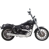 Bassani Road Rage 2-into-1 System, Chrome 24″ Straight