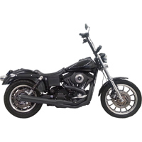 Bassani Road Rage 2-into-1 System, Black 24″ Straight