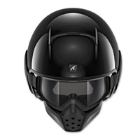 Shark Drak Gloss Black Open Face Helmet
