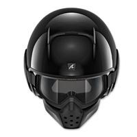 Shark Drak Gloss Black Open Face Helmet