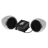 Boss Audio Systems 600 Watt Bluetooth 3″ Chrome Speaker Kit