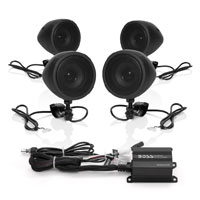 Boss Audio Systems 1000 Watt Bluetooth 3″ Black Speaker Kit