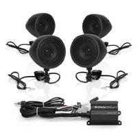 Boss Audio Systems 1000 Watt Bluetooth 3″ Black Speaker Kit