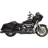 Bassani Black Road Rage 2-in-1 Megaphone Exhaust