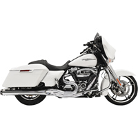 Bassani Chrome Road Rage 2-in-1 Megaphone Exhaust