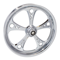 FTD Customs 3 Shot Chrome Front Wheel , 21″x3.5″