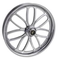 FTD Customs Viper Chrome Front Wheel , 21″x3.5″