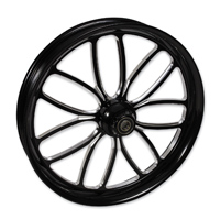 FTD Customs Viper Black Contrast Front Wheel , 21″x3.5″