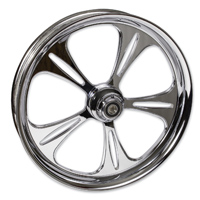 FTD Customs Raptor Chrome Front Wheel , 21″x3.5″