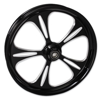 FTD Customs Raptor Black Contrast Front Wheel , 21″x3.5″