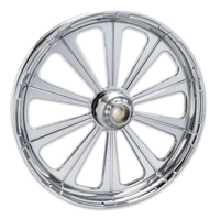 FTD Customs Redemption Chrome Front Wheel , 21″x3.5″