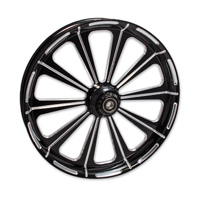 FTD Customs Redemption Black Contrast Front Wheel , 21″x3.5″
