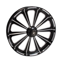 FTD Customs Redemption Black Front Wheel , 21″x3.5″