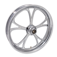 FTD Customs Retaliate Chrome Front Wheel , 21″x3.5″