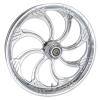 FTD Customs Slasher Chrome Front Wheel , 21″x3.5″