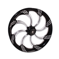 FTD Customs Slasher Black Contrast Front Wheel , 21″x3.5″