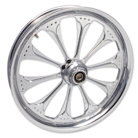 FTD Customs Wizard Chrome Front Wheel , 21″x3.5″