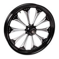 FTD Customs Wizard Black Contrast Front Wheel , 21″x3.5″