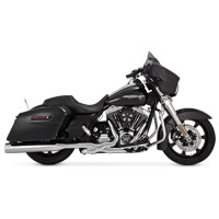 Vance & Hines Titan Oversized 450 Slip-Ons, Chrome with Chrome End Caps