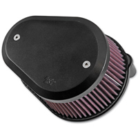 K&N Street Metal High Flow Black Flare Air Intake Kit