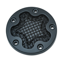 Kuryakyn Black Mesh Timing Cover