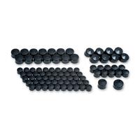 Kuryakyn Black Kool Kaps Engine Kit