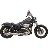 Bassani Road Rage III Megaphone Exhaust, Natural