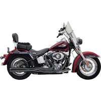 Bassani Black Road Rage II Power 2-into-1 Exhaust