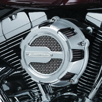 Crusher Crusher Maverick Air Cleaner Chrome ECE Compliant
