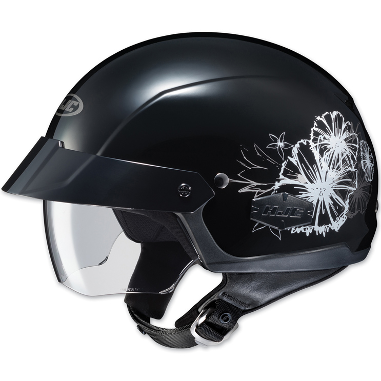 HJC IS-Cruiser Blush Black Half Helmet