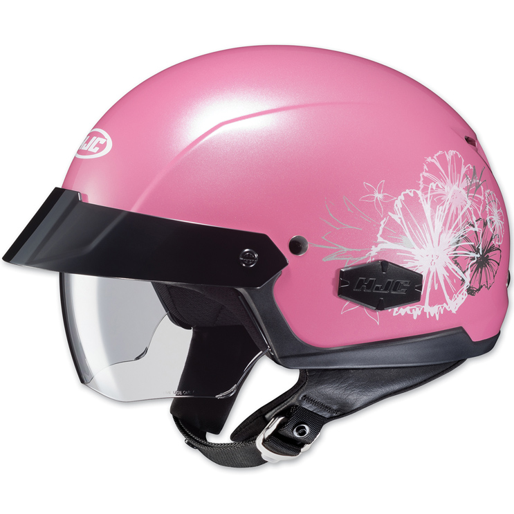 HJC IS-Cruiser Blush Pink Half Helmet
