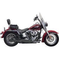 Bassani Black Road Rage II Short Mega Power 2-into-1 Exhaust