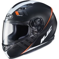 HJC CS-R3 Space Black/White Full Face Helmet
