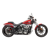 Bassani Chrome Radial Sweepers Exhaust